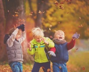 Happy and healthy play in the great outdoors in Winter - ProVen Probiotics