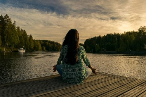 Woman relaxing - simple well-being ideas from ProVen Probiotics