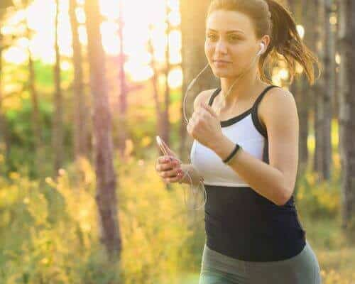 Young woman exercising to support her gut - ProVen Probiotics