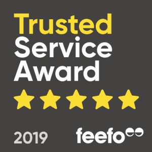 We Won the Feefo Trusted Service Award 2019 - ProVen Probiotics