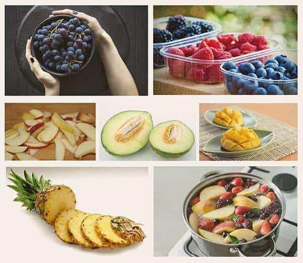 Healthy snack ideas for you and the kids - fruit options