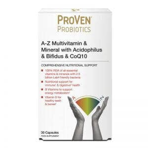 ProVen Probiotics A-Z Multivitamin and Mineral with Acidophilus and Bifidus