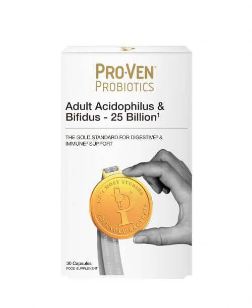 ProVen Probiotics For Adults – 25 Billion High strength for everyday use