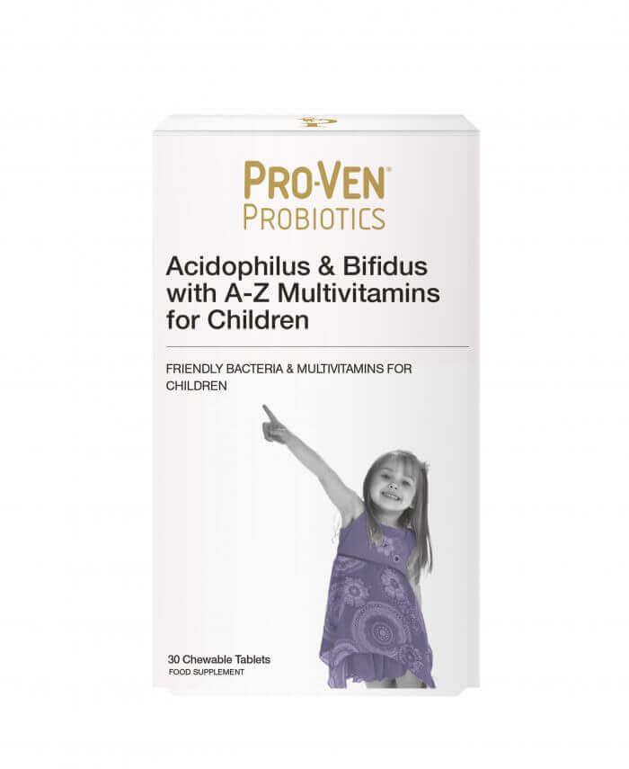 Multivitamins for children from ProVen Probiotics