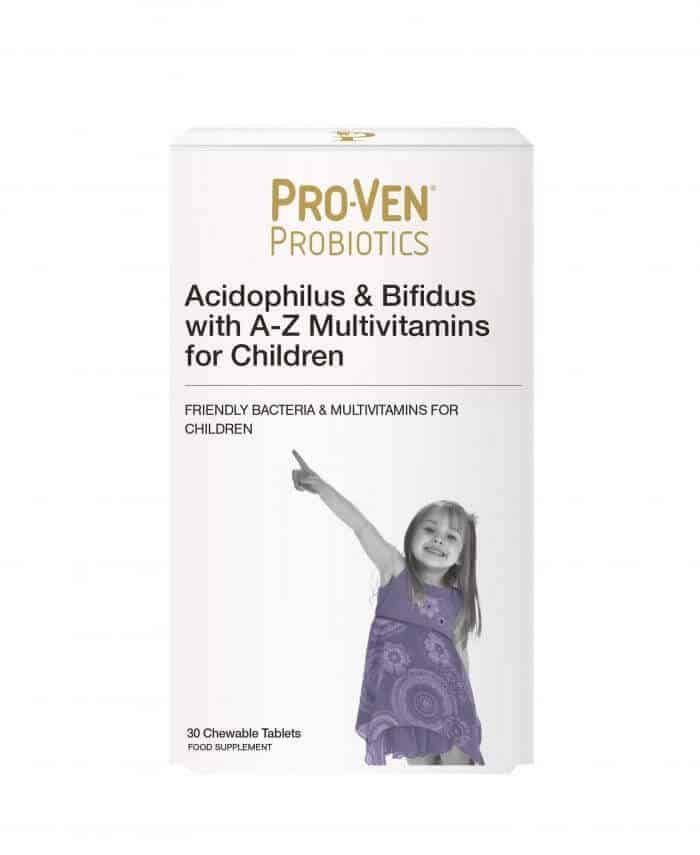 ProVen Probiotics A to Z multivitamins for children product