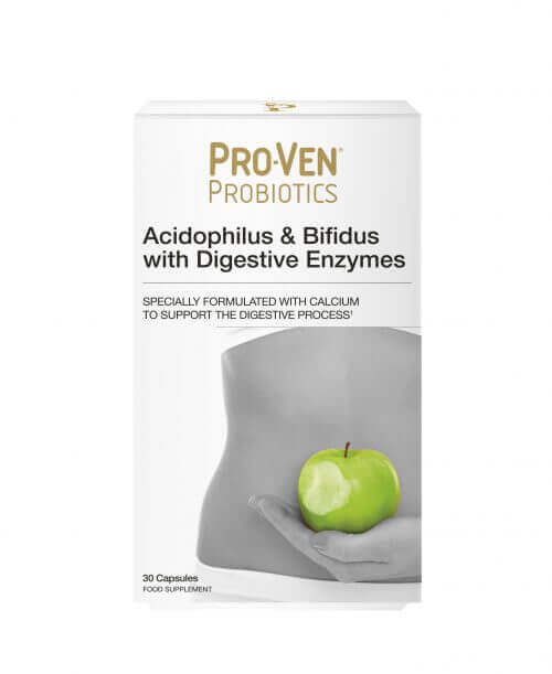 ProVen Probiotics for Healthy Digestion – with Digestive Enzymes and Calcium