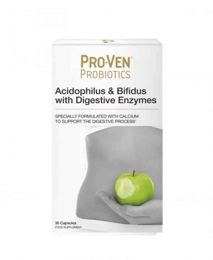 ProVen Probiotics for Healthy Digestion - with Digestive Enzymes and Calcium