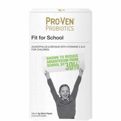 14 ProVen Probiotics for Kids (powder) - Fit for School with Vitamins C and D