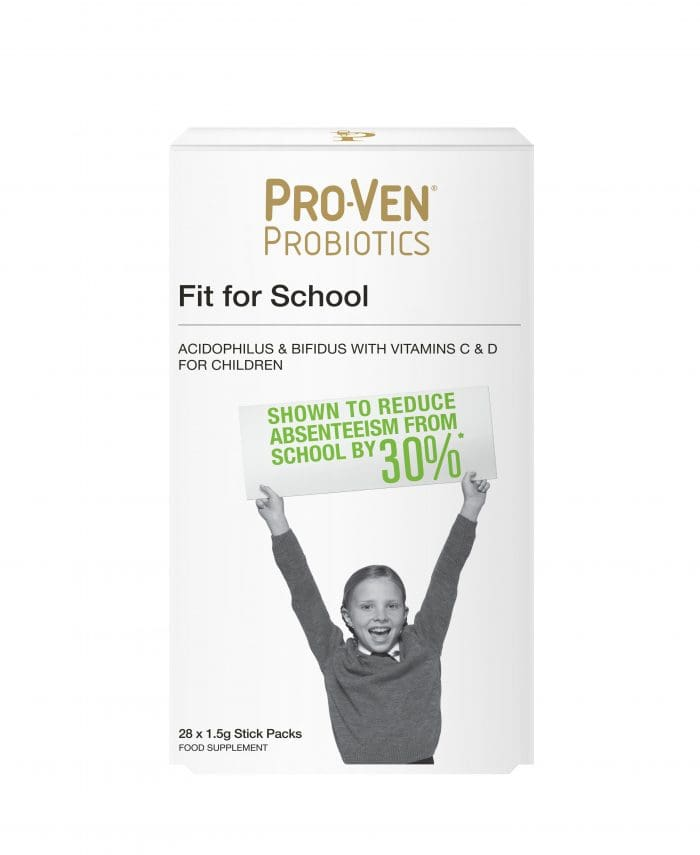 28 ProVen Probiotics for Kids (powder) - Fit for School with Vitamins C and D