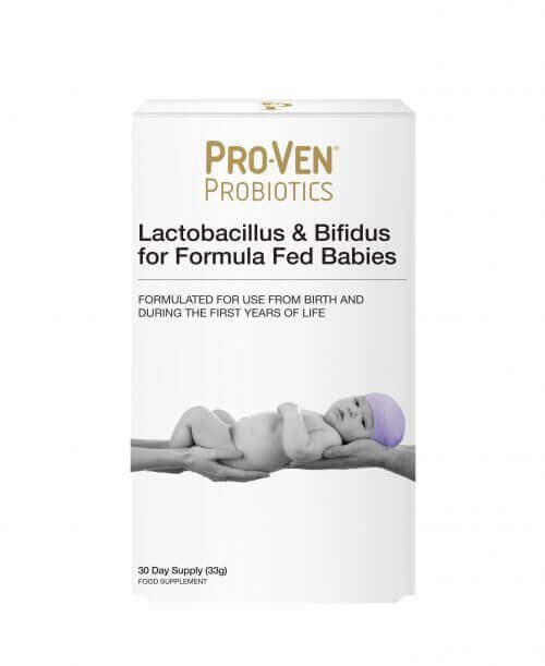 ProVen Probiotics for Babies (Formula Fed) – powder with Prebiotics