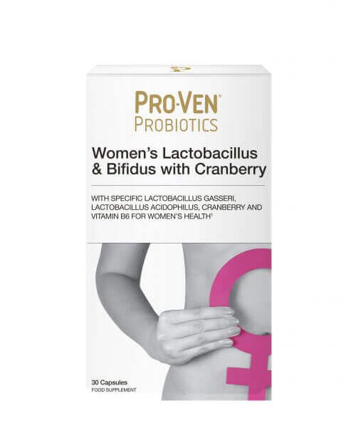 ProVen Probiotics for Women – with Cranberry and Vitamin B6
