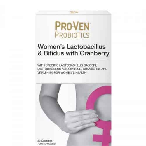 ProVen Probiotics for Women - with Cranberry and Vitamin B6