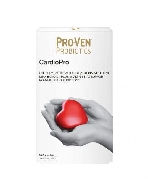 ProVen Probiotics for Heart Health – with Olive Leaf Extract and Vitamin B1