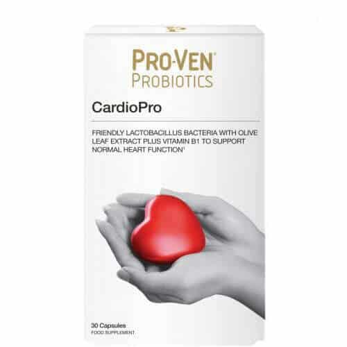 ProVen Probiotics for Heart Health - with Olive Leaf Extract and Vitamin B1