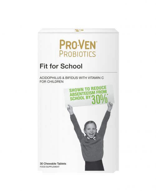 ProVen Probiotics for Kids (chewable tablets) – Fit for School with Vitamin C