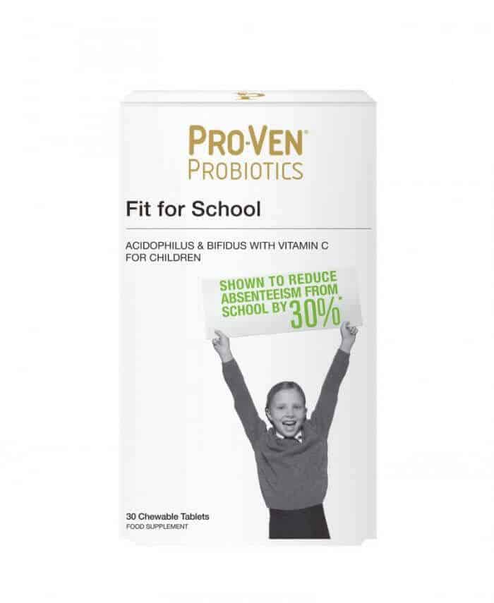 ProVen Probiotics for Children (chewable tablets) - Fit for School with Vitamin C