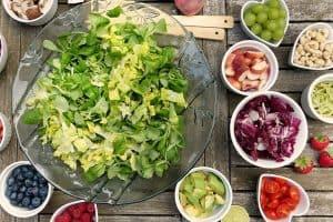 Ultimate gut friendly green summer salad