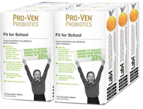 Fit for School chewable tablets from ProVen Probiotics