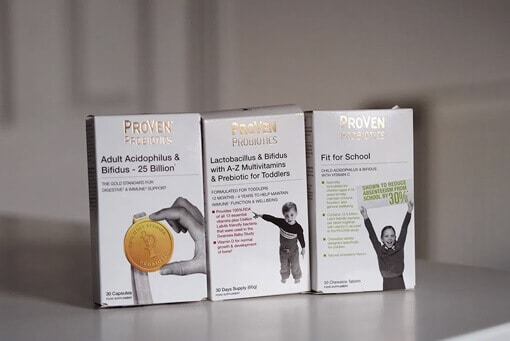A comprehensive range of probiotics for Liza Prodeaux's family