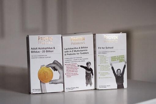 A comprehensive range of probiotics for Liza Prodeaux's family
