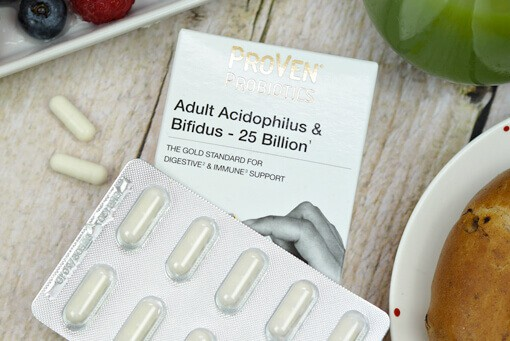 Hayley Hall an advocate of probiotics for adults 25 billion capsules