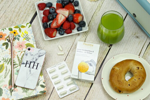 ProVen Probiotics Adult Acidophilus and Bifidus 25 Billion, part of Hayley Hall's healthy lifestyle