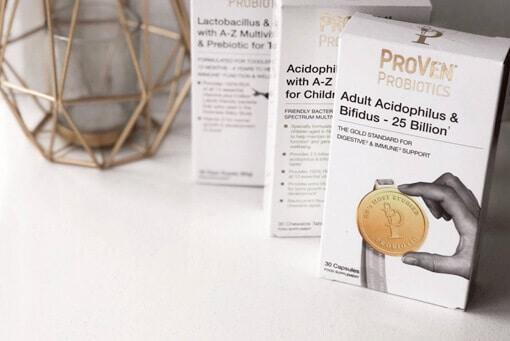 ProVen Probiotics Adult Acidophilus and Bifidus 25 billion capsules