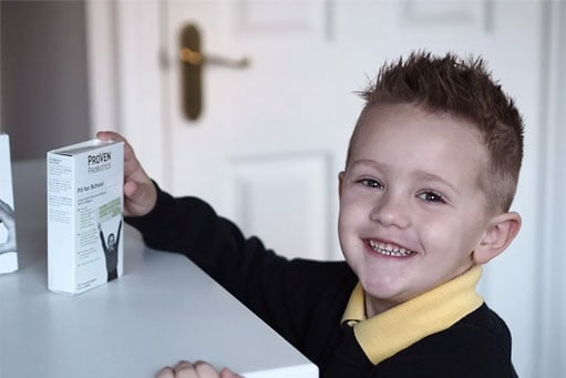 Liza Prideaux's son, Vinny has been taking the Fit for School with Vitamin C chewable tablets