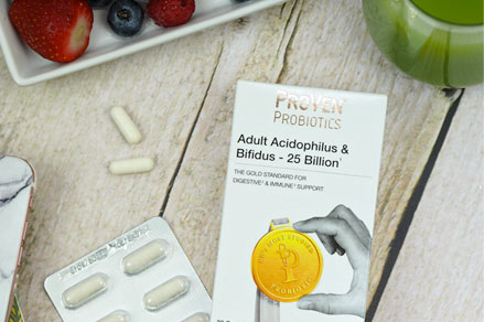 Adult Acidophilus and Bifidus probiotics - 25 billion CFUs