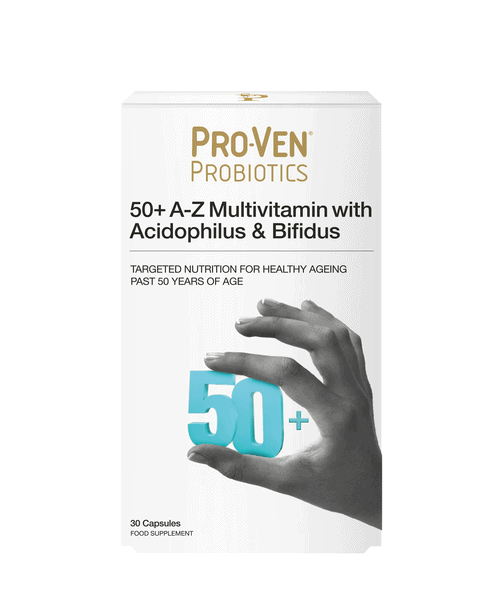 50+ adult product by ProVen Probiotics
