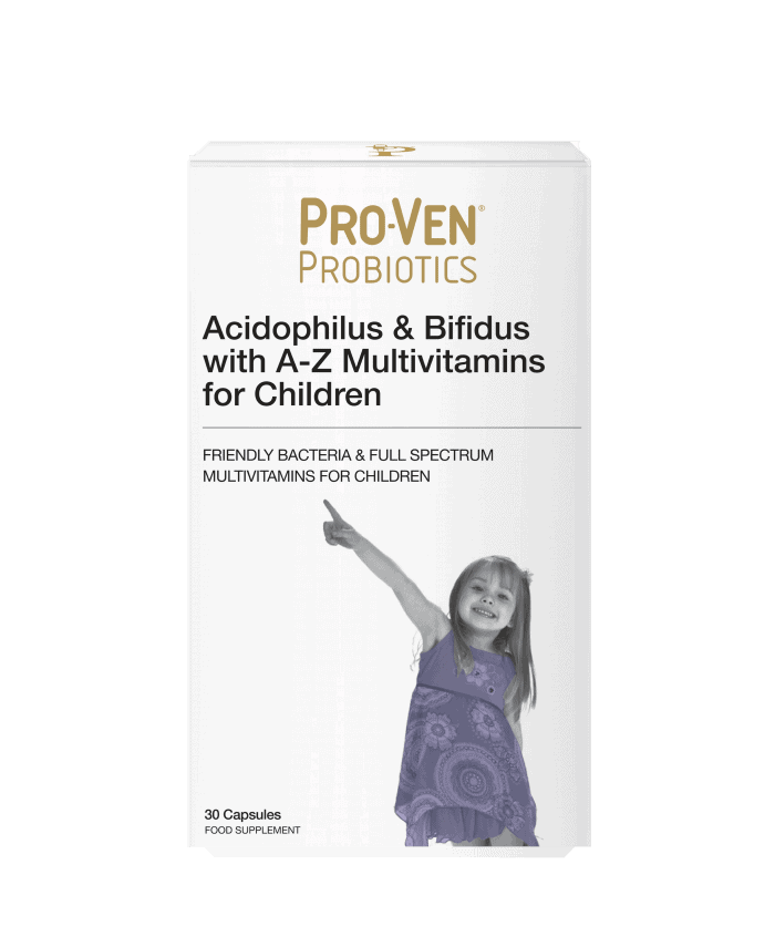 A-Z multivitamins for children product by ProVen Probiotics