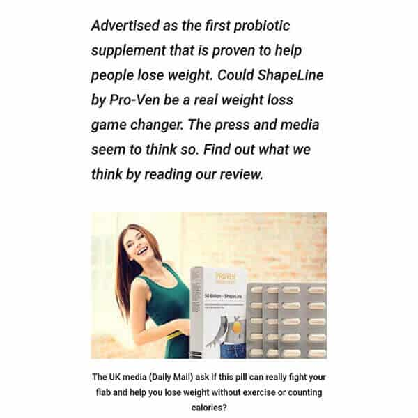 First probiotic supplement to help people lose weight