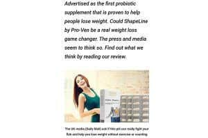 First probiotic supplement from ProVen to help people lose weight