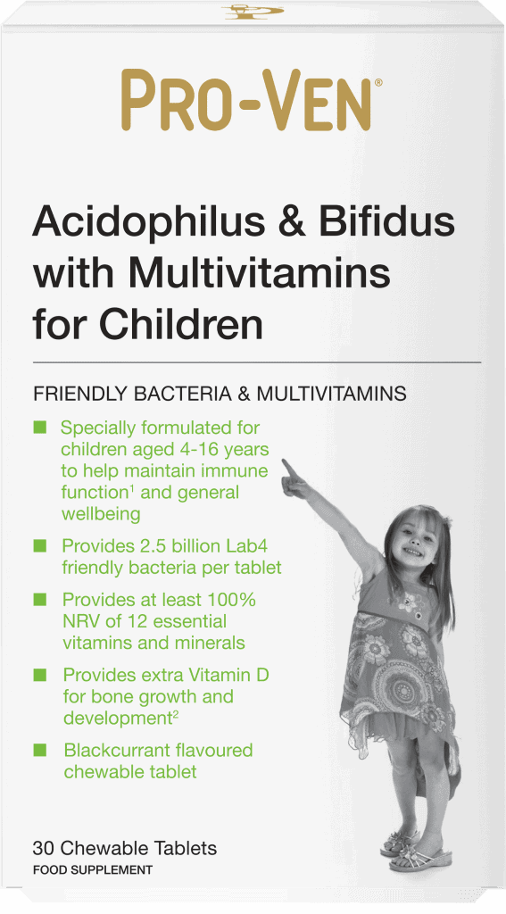 Childs Multivitamin Proven Probiotics as sold by Holland and Barrett