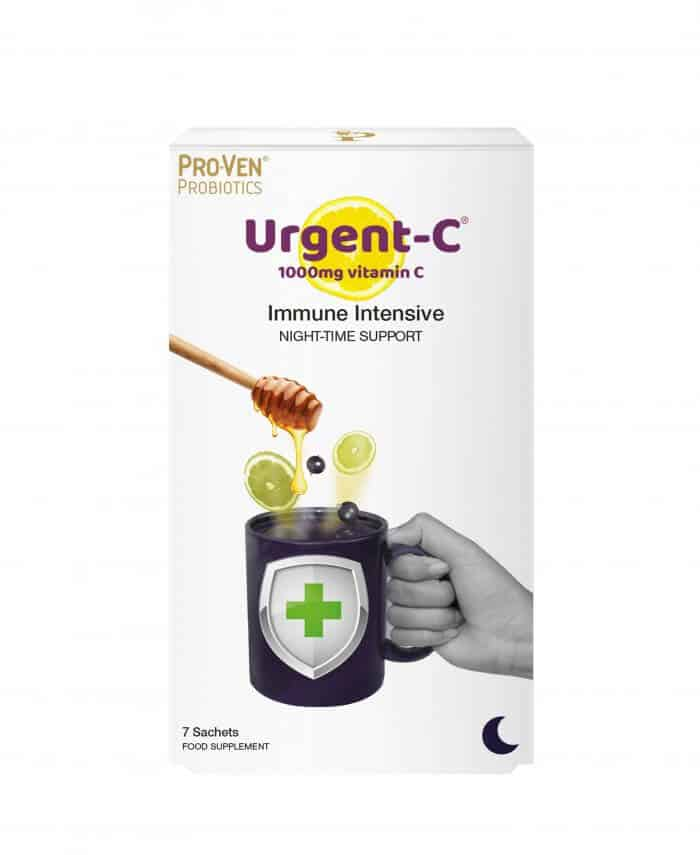 Urgent C Immune Intensive night-time support vitamin C product from ProVen