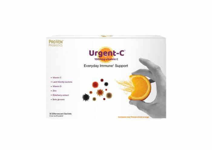 Urgent C Everyday Immune support vitamin C product from ProVen