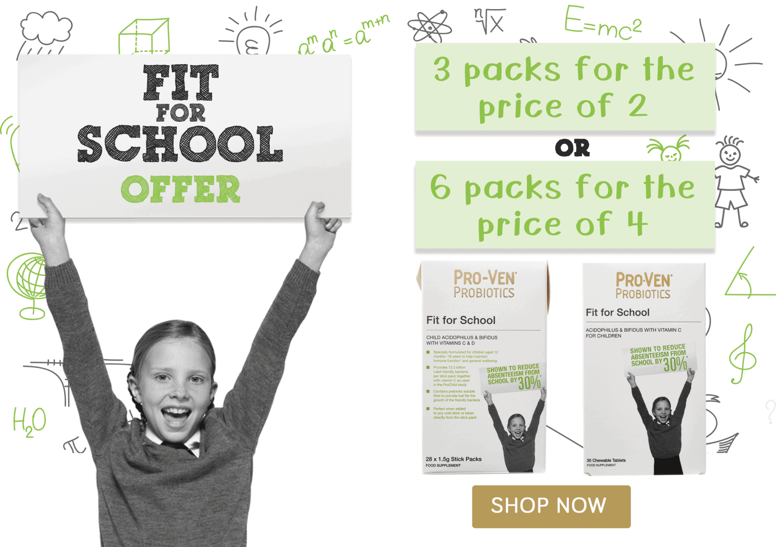 Fit for School offer September and October 2020