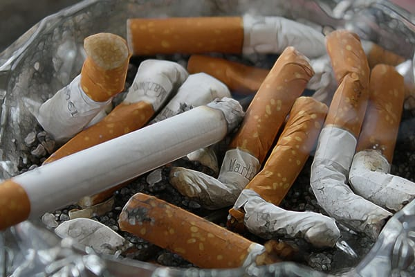 Cigarette smoking and gut health