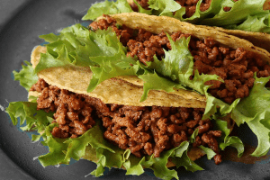 Healthy taco recipe from ProVen Probiotics