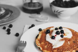 Healthy pancake day recipe for a healthy gut