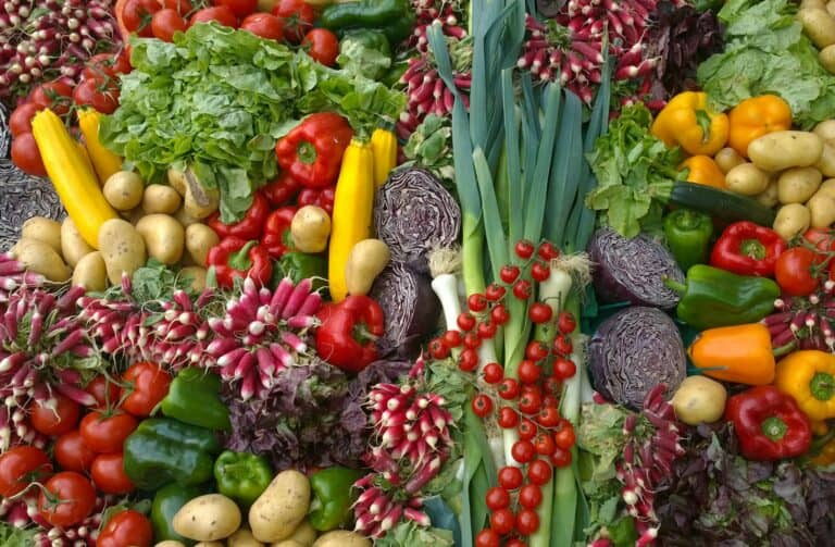 100 vegetables for a healthy gut