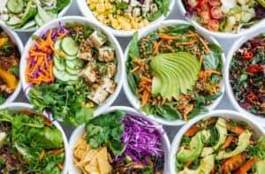 Gut healthy salad recipe