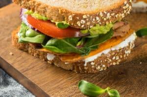 Gut friendly sandwich number 1
