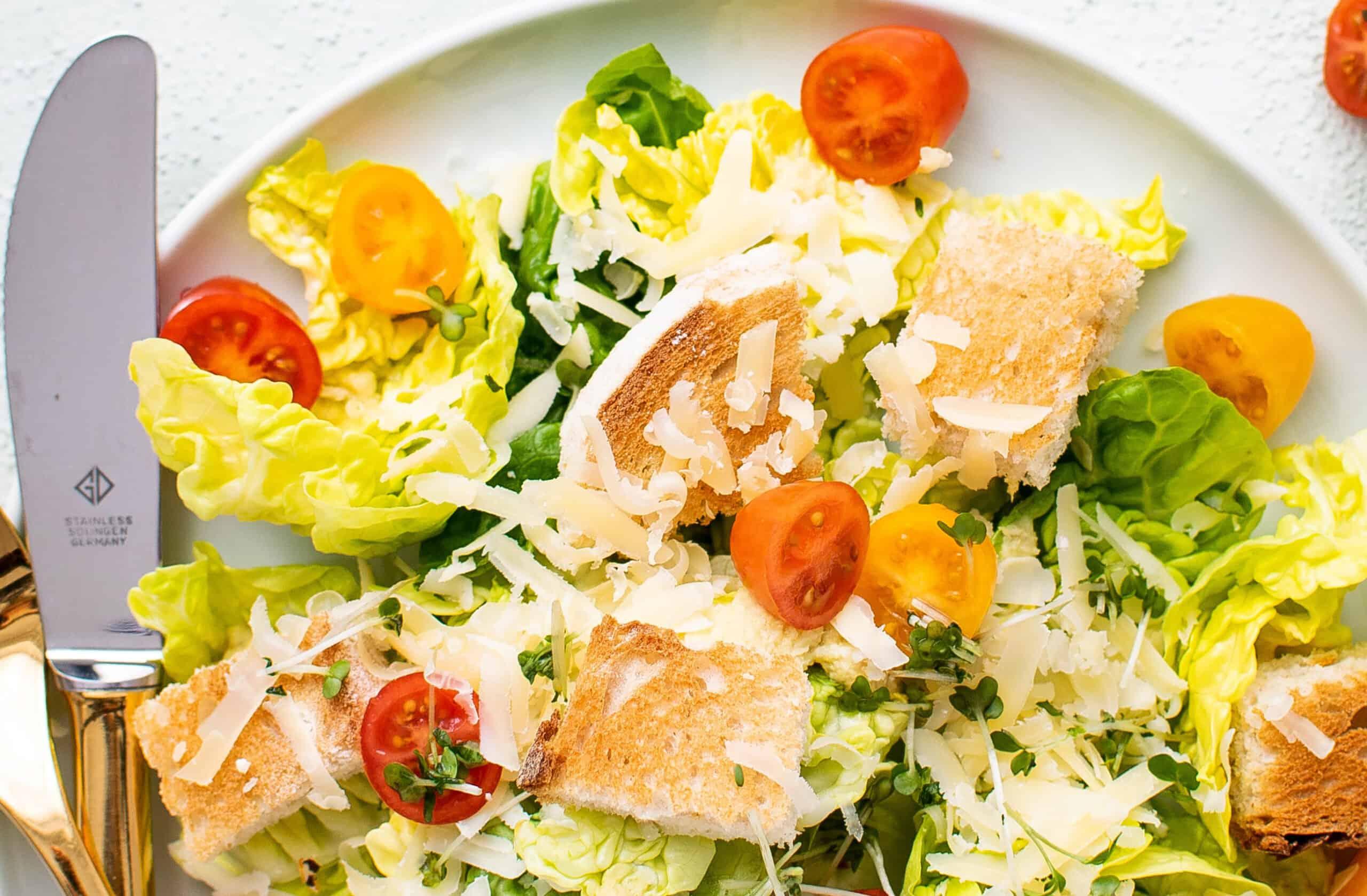 Gut healthy salad recipe suggestion