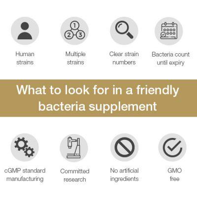 Choosing a friendly bacteria supplement - ProVen Probiotics
