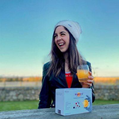 Hannah Fuller, a social media influencer advocating the ProVen Probiotics brand
